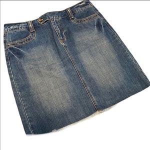 Old Navy denim skirt jean size 8 soft cute